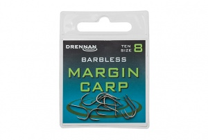 Крючки Drennan Margin Carp Barbless 10шт