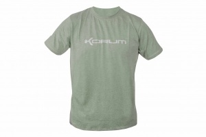 Футболка Korum Heather Green Marl T-Shirt