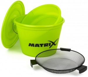 Набор ведро, тазик, сито Matrix Lime Bucket Set