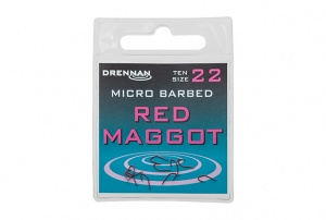 Крючки Drennan Red Maggot Micro Barbed 10 шт