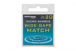 Крючки Drennan Wide Gape Match Micro Barbed 10 шт