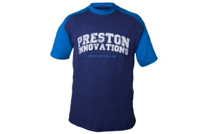 Футболка PRESTON TWO TONE BLUE T-SHIRT