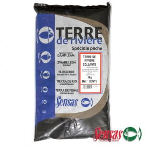 Грунт Sensas Sticky Terre de Rivere 3кг