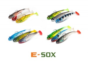 Мягкая приманка Drennan E-Sox Jell-Ignite Soft Shads