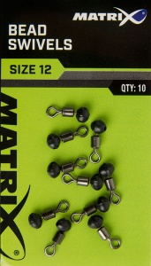 Вертлюг с бусиной Matrix Bead Swivels 10шт.
