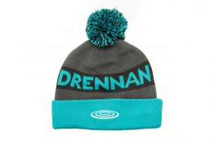 Шапка Drennan Bobble Hat Aqua/Black