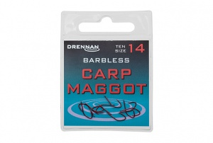 Крючки Drennan Carp Maggot Barbless 10шт.