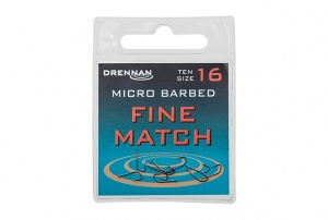 Крючки Drennan Fine Match Micro Barbed 10шт.