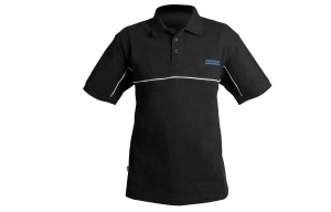 Футболка PRESTON DF BLACK POLO SHIRT