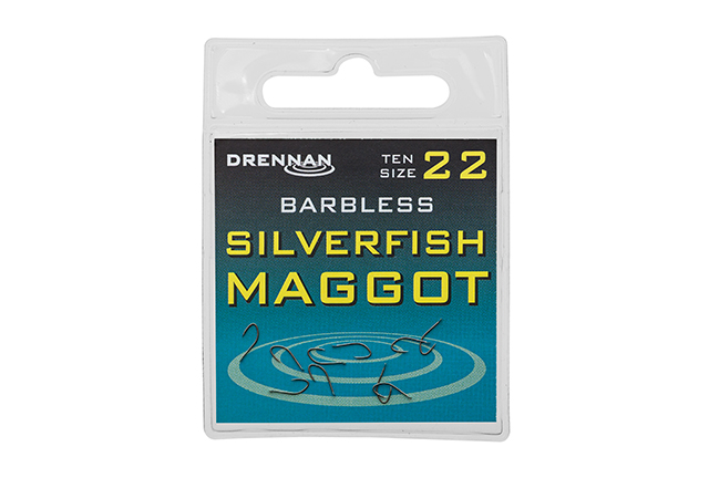 Крючки Drennan Silverfish Maggot Barbless 10 шт