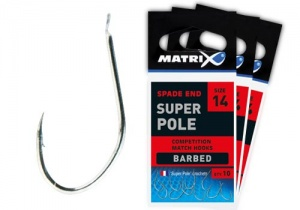 Крючки Matrix Super Pole Barbed