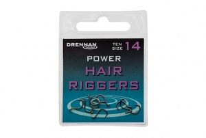 Крючки Drennan Power Hair Riggers 10шт.