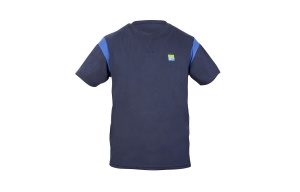 Футболка Preston Navy T-Shirt синяя