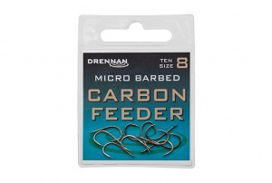 Крючки Drennan Carbon Feeder Micro Barbed 10 шт