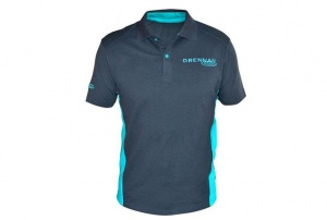 Футболка Drennan Polo Shirt Grey