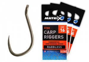 Крючки Matrix Carp Riggers Barbless