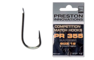 Крючки Preston Competition Match PR355 10 шт