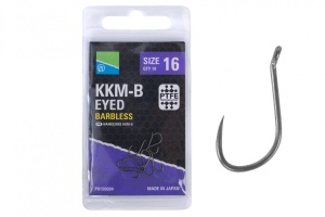 Крючки Preston KKM-B Eyed Barbless 10 шт