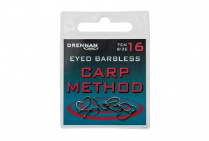 Крючки Drennan Eyed Barbless Carp Method 10шт