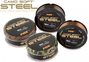 Леска Fox Camo Soft STEEL 1000м