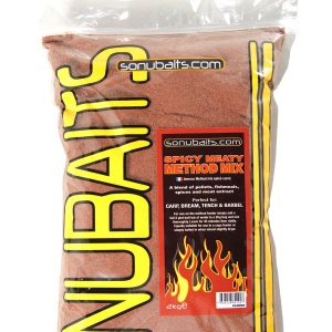 Прикормка Sonubaits Spicy Meaty Method Mix