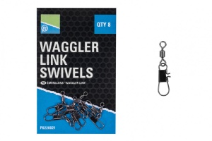 Вертлюг Preston Waggler Link Swivels