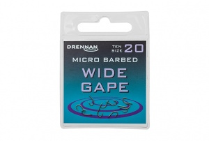 Крючки Drennan Wide Gape Micro Barbed 10шт.