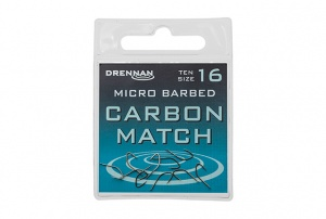 Крючки Drennan Carbon Match Micro Barbed 10 шт