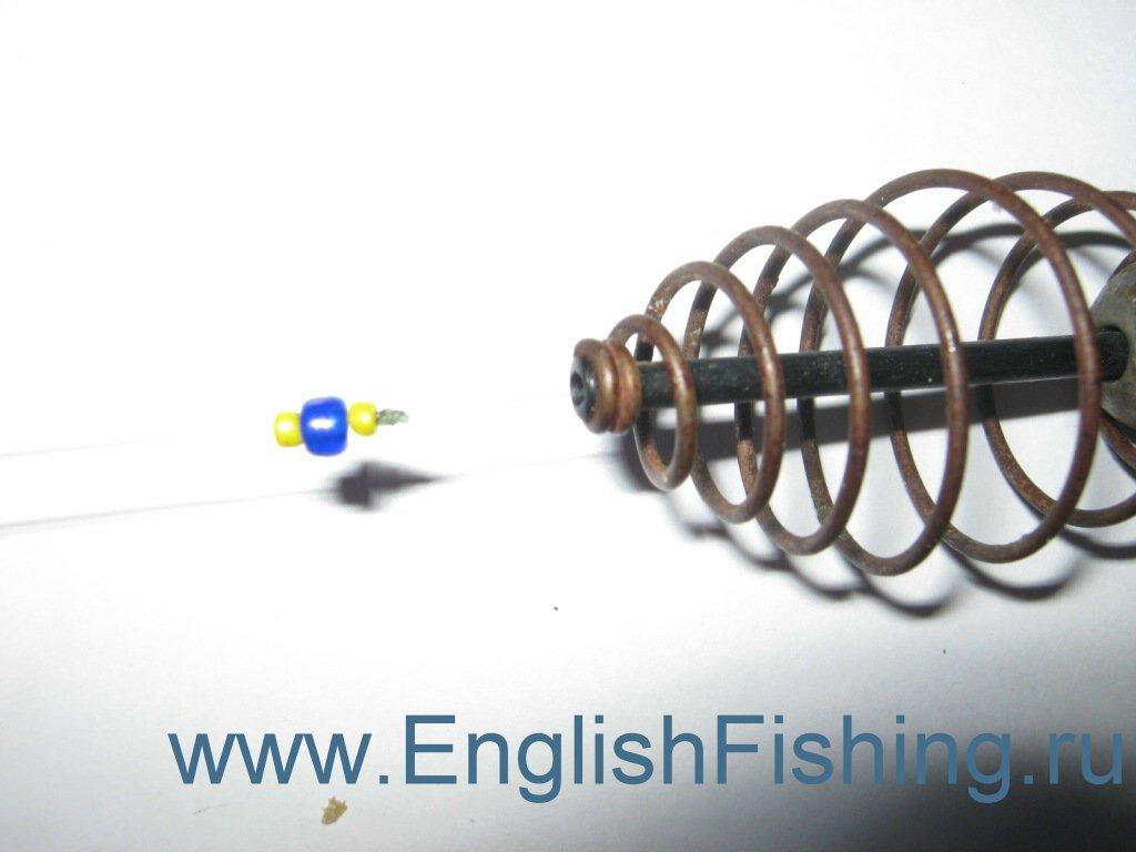 схема монтажа фидерной оснастки с асимметричной петлей